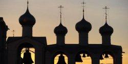 Строительство деревянной церкви в Коломенском