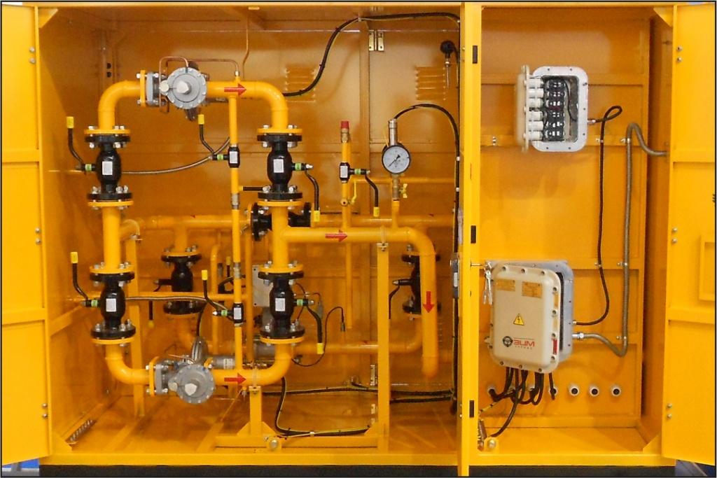 Встроенные системы телеметрии для пунктов редуцирования и учета расхода газа