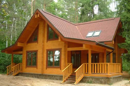 Проектирование дома из дерева