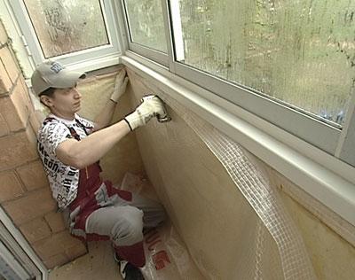 Гидроизоляция открытого балкона.
