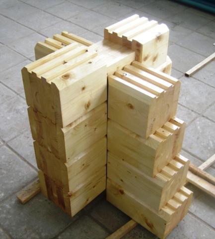 На Руси всегда дома строили из дерева